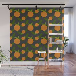 Mangoes in the dark Wall Mural