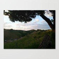Rincon landscape Canvas Print
