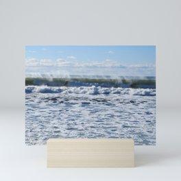 Lawrencetown Beach Long Wave2 Mini Art Print