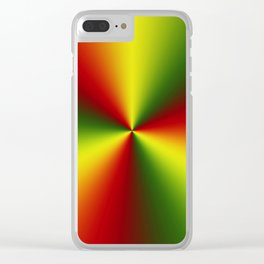 Abstract perfection - 101 Clear iPhone Case