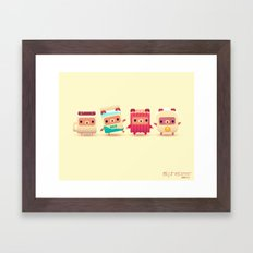 ALPHABEAR - Breakfast Bears Framed Art Print
