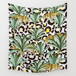 Jungle prowl Wall Tapestry