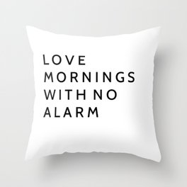 Bedroom decor Throw Pillow