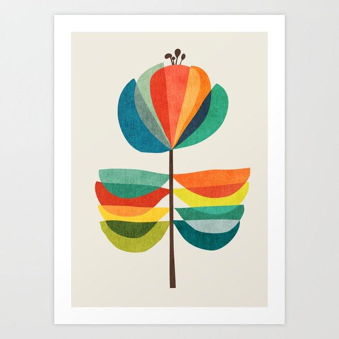 Whimsical Bloom Kunstdrucke