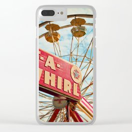 tilt-a-whirl Clear iPhone Case