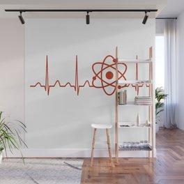 Nuclear Engineer Heartbeat Wall Mural