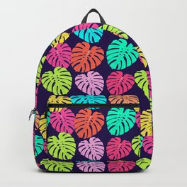 Monstera Deliciosa Print Backpack