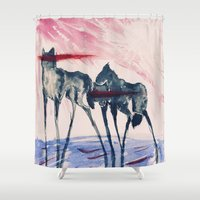 ford Shower Curtains featuring Ford by DogoD Art
