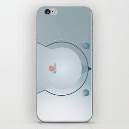 Sega Dreamcast console artwork iPhone Skin