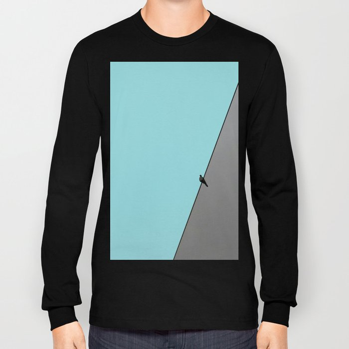 Solitude in blue Long Sleeve T-shirt