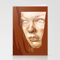 fifth element Stationery Cards featuring The Fifth Element by Doruktan Turan