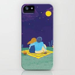 an autumn night iPhone Case