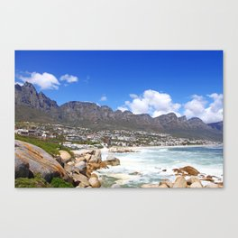 Lovely Cape Town, South Africa Canvas Print