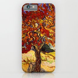 Vincent Van Gogh Mulberry Tree iPhone Case
