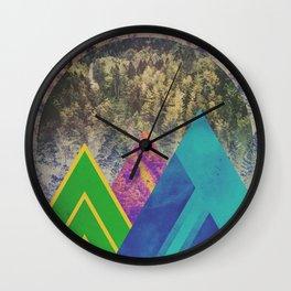 Fractions B16 Wall Clock