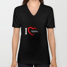 Idaho. I love my favorite city. Unisex V-Neck