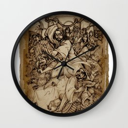 JC: Cleanses the Temple Wall Clock