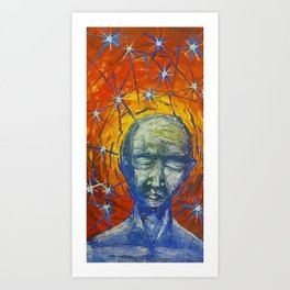 Existential Blues Art Print