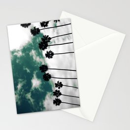 Palms in the sky Stationery Cards