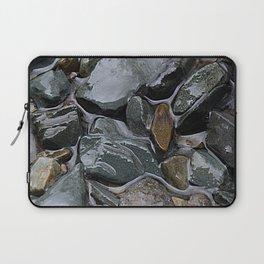 rocks in the rain Laptop Sleeve