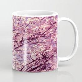 Pink Lavender Blossoms. Coffee Mug
