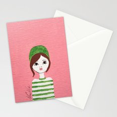 Green Hat Stationery Cards