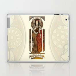 Steampunk Nouveau- Cream Laptop & iPad Skin