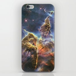 carina carina and her fuzzy psychedelia | space #12 iPhone Skin