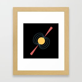 Neutron Star Framed Art Print