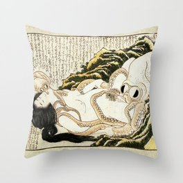 Dream of the Fisherman's Wife - Mad Men Throw Pillow