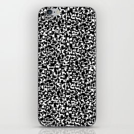 composition book iPhone Skin