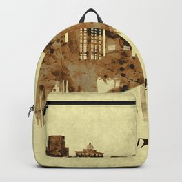 Grand Rapids Michigan Cityscape Backpack