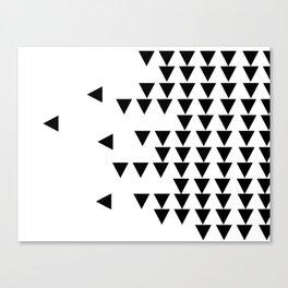 Arrow Tetris Canvas Print