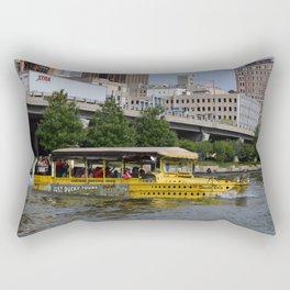 Pittsburgh Tour Series - Ducky Tour Boat Rectangular Pillow