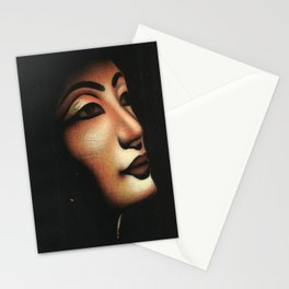 Queen collected from Egypt Stationery Cards