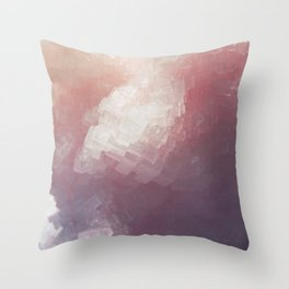 Salt Crystal Throw Pillow