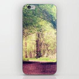 Tree Tunnel iPhone Skin