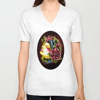 gypsy V-neck T-shirts featuring Gypsy by Voss fineart