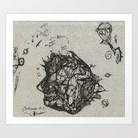 Microcosm of a Kingdom Art Print