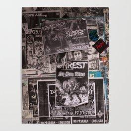 Punk Wall Poster