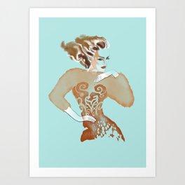 Copper Queen Art Print