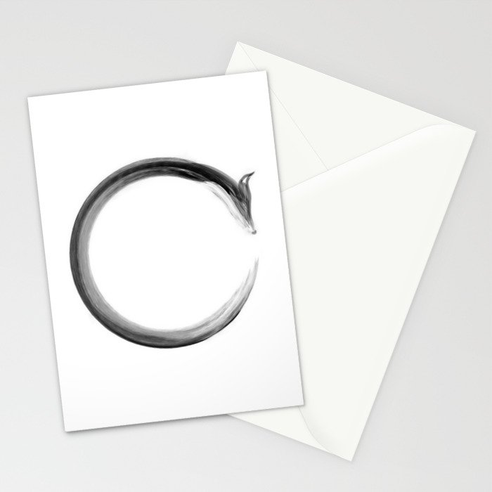 CalmFox Enso Stationery Cards