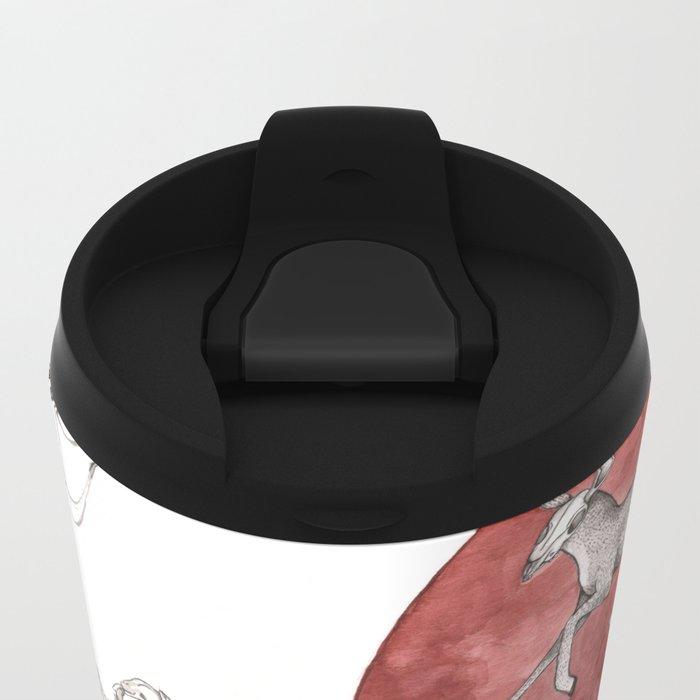 Dead Man Metal Travel Mug