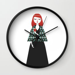 Isolde Wall Clock
