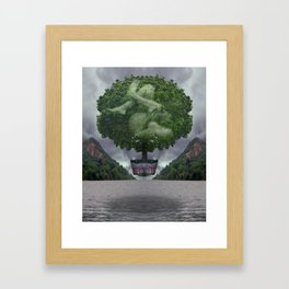 The Safety Series - Stormclouds Framed Art Print