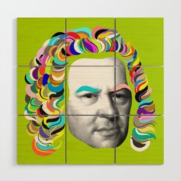 Bach Collage Wood Wall Art