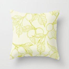 Fresh Squeezed Throw Pillow
