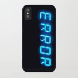 ERRORTRUTH iPhone Case
