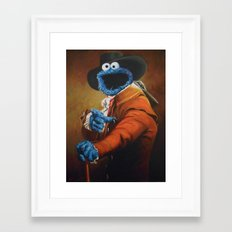 Monster Ducookie Framed Art Print