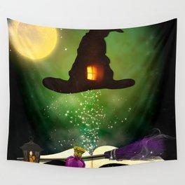 Magic Hat Wall Tapestry